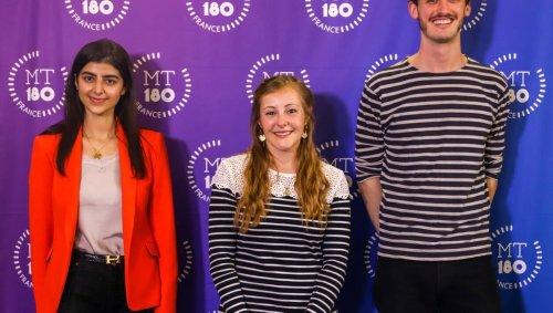 Distingués à Angers, les lauréats de Ma thèse en 180 secondes qualifiés pour la finale nationale !