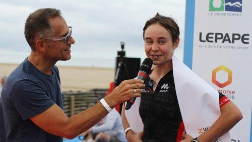 Triathlon de Deauville. Inès Van Der Linden a éclaboussé l'Ironman de son talent