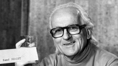 « J'ai tout de suite pensé qu'il avait raison » : ils ont voté René Dumont, candidat écolo en… 1974