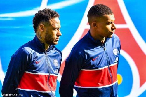 Mbappé se plaint du comportement de Neymar
