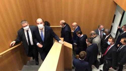 VIDÉO. Le Premier ministre et le Garde des sceaux sont en visite au tribunal de Lorient ce jeudi