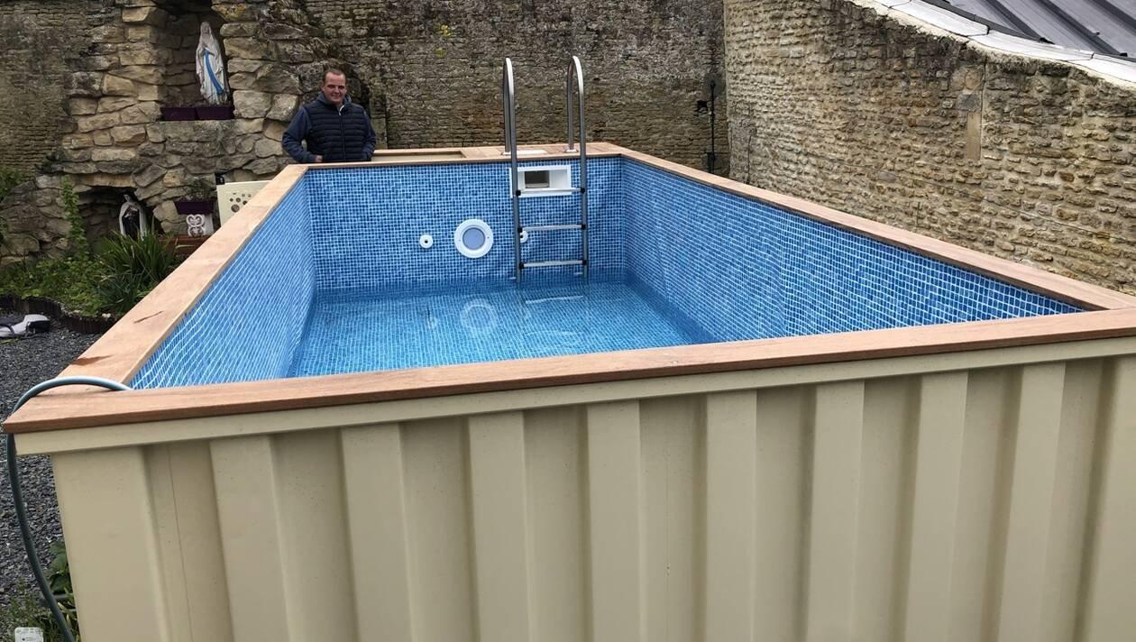 Dans les jardins, la vague des piscines en container