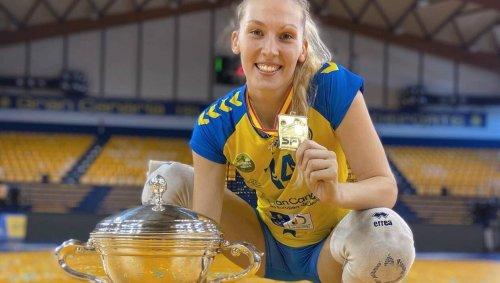 Volley. La Vendéenne Victoria Foucher poursuit sa moisson en Espagne