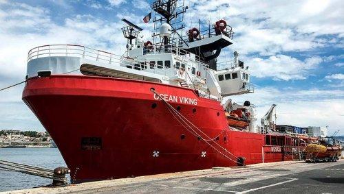 Méditerranée. 129 migrants secourus par le navire Ocean Viking ce week-end