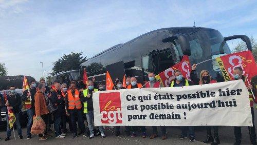 ACPP. Les salariés au départ de Cherbourg pour faire face à leur avenir
