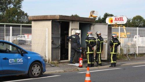 141 foyers privés de courant à cause d'un feu de transformateur électrique à Avranches