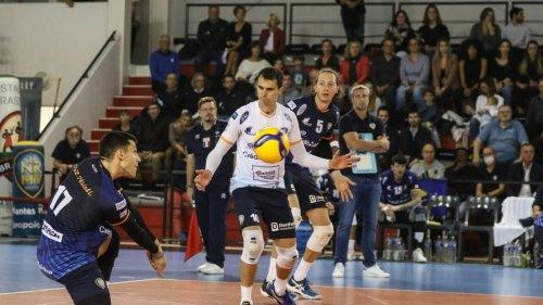 Volley. Ligue AM : Nantes Rezé subi la loi de Cannes