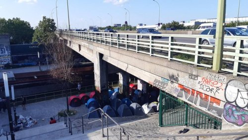 Paris. Un nouveau campement évacué et 325 migrants pris en charge