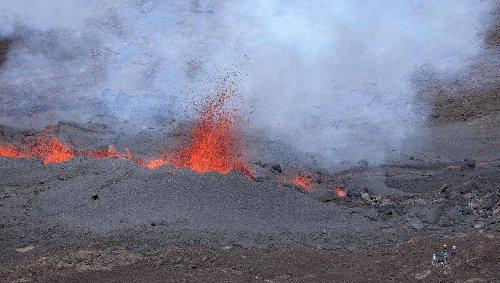 La Réunion. Fin de l'éruption volcanique du Piton de la Fournaise, après plus d'un mois d'activité