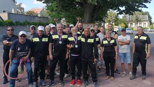 La section pétanque de l'ASPTT de Caen qualifiée pour les championnats de France