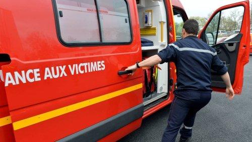 Auray. Un conducteur transporté à l'hôpital après être allé au fossé sur la voie express