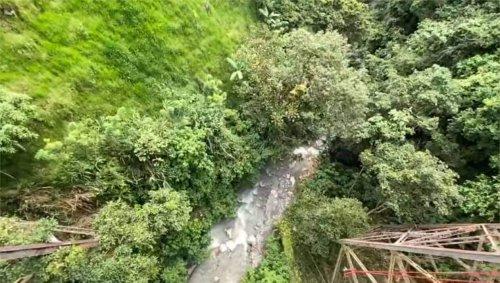 Venue faire du saut à l'élastique, une jeune femme se jette d'un viaduc sans être attachée et se tue