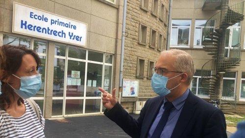 Lorient. Tirs sur l'école, le maire Fabrice Loher salue la réactivité de la police