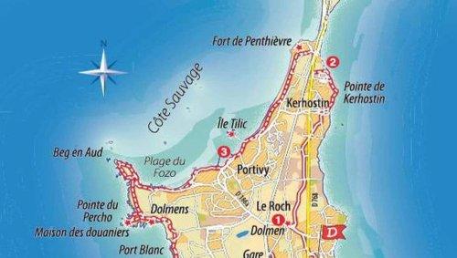 Kerhostin, Portivy et la côte sauvage, un bol d'air tonifiant