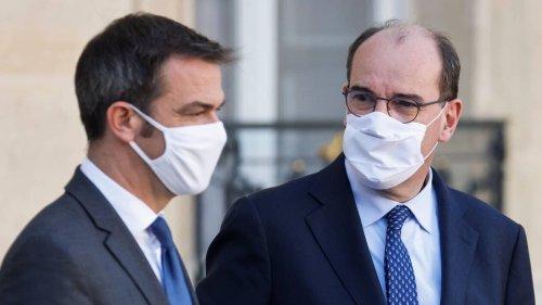 Quand Jean Castex reprend son ministre Olivier Véran, trop « dissipé » en plein discours