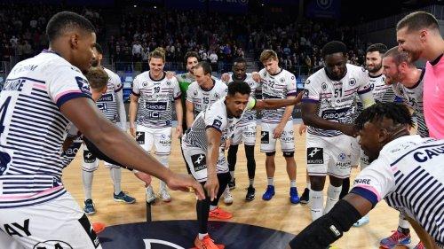 EN IMAGES. Handball : revivez le festival offensif de Cesson Rennes face à Limoges