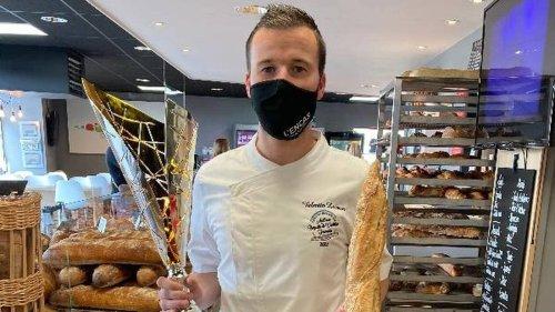 PORTRAIT. Le titre de meilleure baguette tradition au terme d'un dur labeur pour Valentin Lecoeur