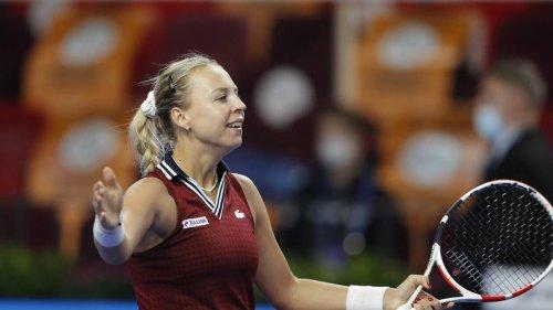 Tennis. Anett Kontaveit domine Marketa Vondrousova et file en finale au tournoi de Moscou