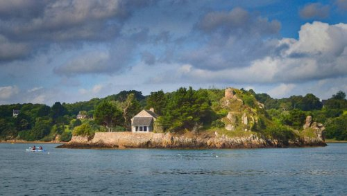 Une île privée avec maison à vendre pour 1 575 000 € près de Paimpol