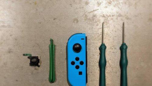 Tuto Nintendo Switch. Comment réparer soi-même le Joy-Con Drift ?