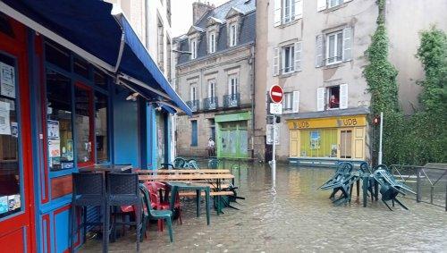 Quimper. Inondations : « C'était un épisode pluvieux brutal et très localisé »