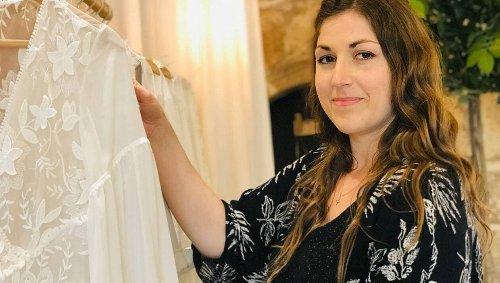 Vannes. Cette styliste crée des robes uniques pour un jour unique
