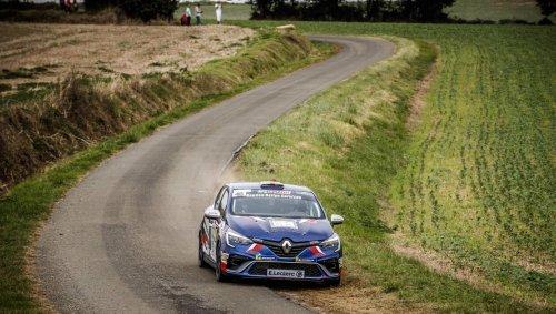 Rallye Cœur de France. Coup triple pour Romain Di Fante, vainqueur, titré et promu