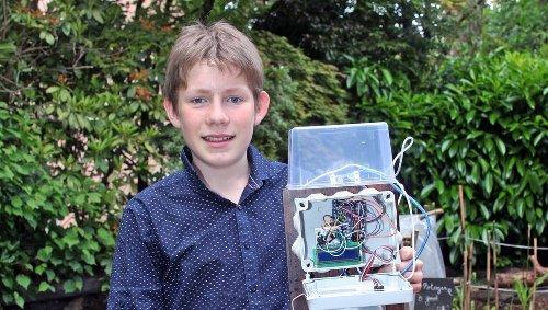 À 16 ans, le jeune inventeur finistérien à nouveau primé grâce à son arroseur automatique