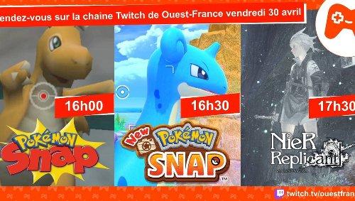 « New Pokémon Snap », « Nier Replicant » : retrouvez-nous sur Twitch, vendredi 30 avril dès 16 h !