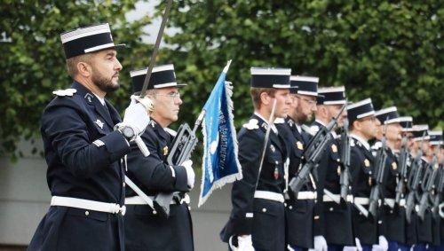 Prise de commandement à la Section de recherches de Caen