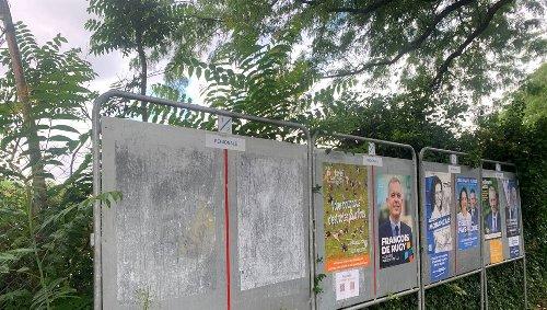 Régionales. Pourquoi les affiches de Matthieu Orphelin ont-elles disparu à Angers ?