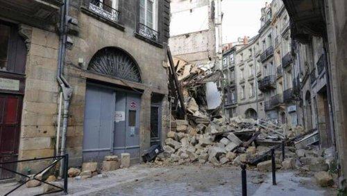 Immeubles effondrés à Bordeaux: des travaux de sécurisation sont en cours