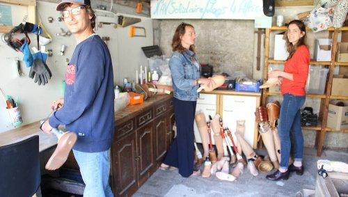Nav'Solidaire, association manchoise, donne une seconde vie aux prothèses