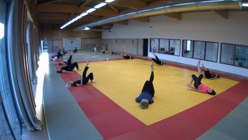 Le Lion-d'Angers. Le Judo-club offre des séances découverte du taïso