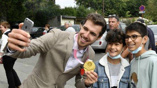EN IMAGES. Jeux paralympiques : le retour en or de Dorian Foulon dans le Morbihan