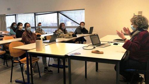 VIDEO. Un cours « sauvage » à l'Université de Bretagne occidentale (UBO) à Brest