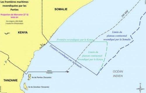 Une nouvelle frontière maritime entre le Kenya et la Somalie