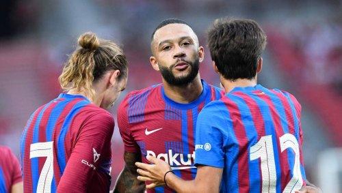 Football. Amical : le FC Barcelone domine Stuttgart grâce à Memphis Depay et Antoine Griezmann