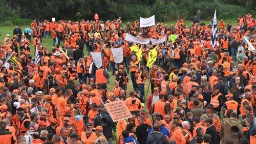 Plus de 9 000 chasseurs sont réunis à Redon pour la manifestation interrégionale en Bretagne