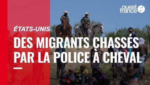 VIDÉO. Au Texas, la police des frontières chasse à cheval les migrants haïtiens