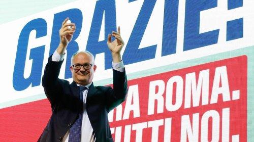 Italie : Roberto Gualtieri, candidat de la gauche, élu maire de Rome