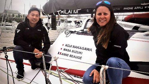 Voile. Anne Beaugé et Masa Suzuki, le futur en poupe…