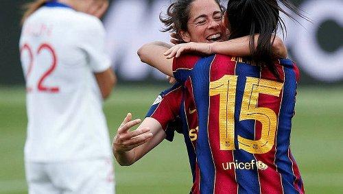 Football. Espagne : le FC Barcelone sacré champion de D1 féminine