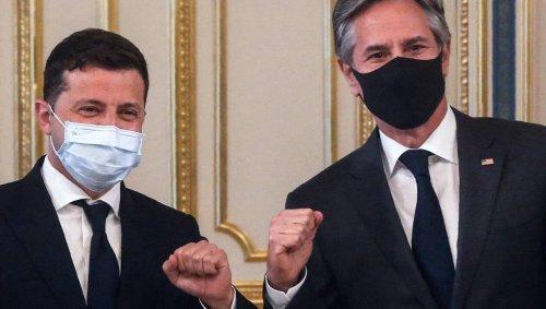 Ukraine. Le chef de la diplomatie américaine appelle la Russie à cesser son action « agressive »