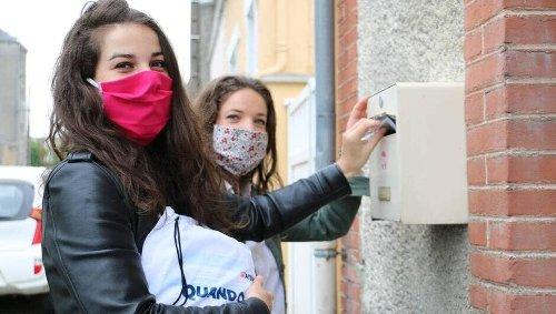 En Mayenne. Il y a un an, 5 300 bénévoles distribuaient 300 000 masques anti-Covid