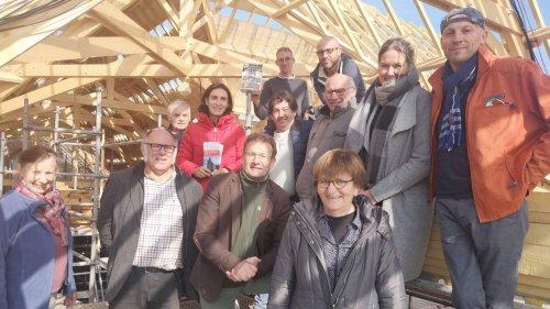 Saint-Brieuc-de-Mauron. La rénovation de la charpente de l'Église se poursuit