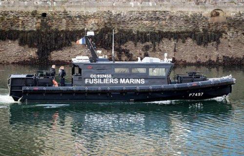 La première vedette de fusiliers marins « Bir Hakeim » arrivée à Brest
