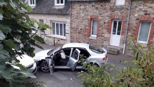 Saint-Marcel. Les occupants d'une voiture s'enfuient après un accident