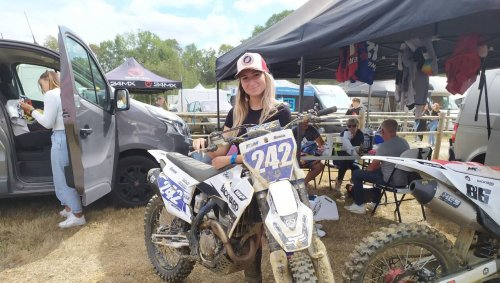 Motocross. Jessie Grondin : « Les choses sont en train de changer pour les filles »