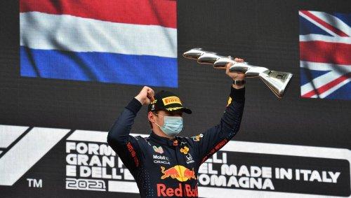 Formule 1. GP d'Émilie-Romagne : Verstappen vainqueur d'une course chaotique devant Hamilton